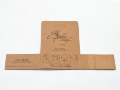 Kraft paper printing folding card, folding carton